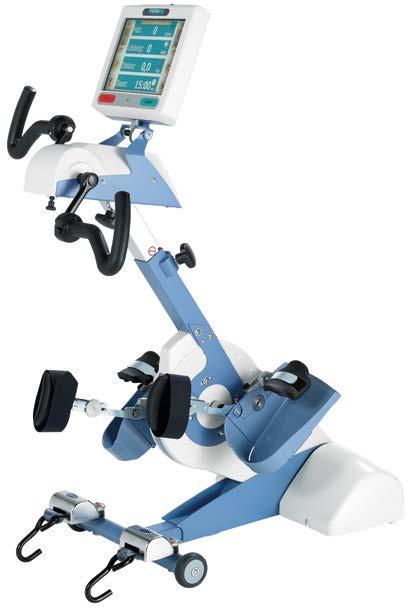 Cicloergometro elettrico per arti inferiori e superiori
