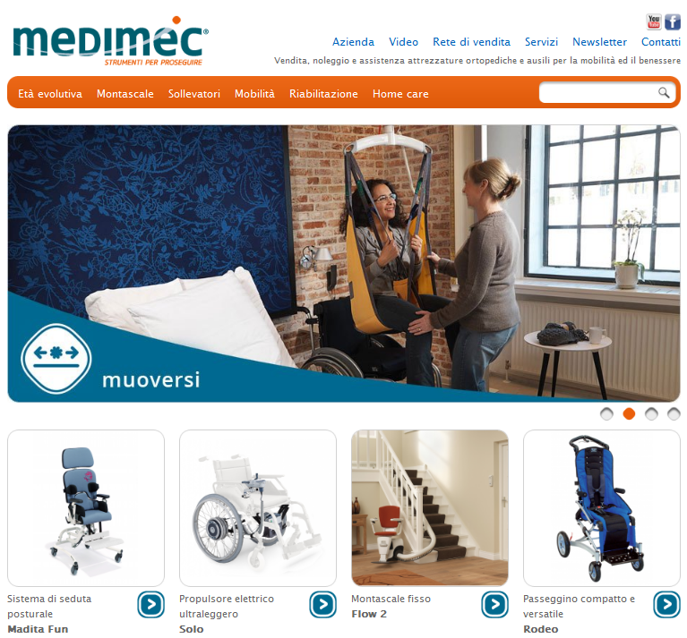 Il sito medimec si aggiorna e migliora per esservi ancora for Medimec international srl