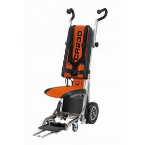 Montascale a ruote con seduta integrata richiudibile per i servizi di assistenza domiciliare
