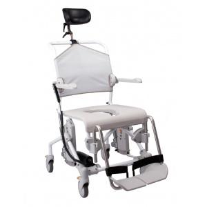 Sedia basculante per wc e doccia con ruote e motore SWIFT MOBILE TILT Etac