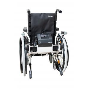 max-e lights Black Edition carrozzina manuale leggera con motore elettrico AAT