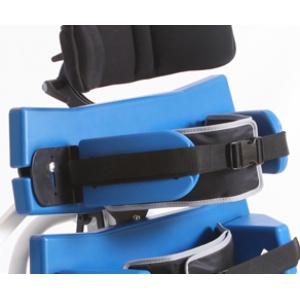 Supporti laterali imbottiti e flessibile per il tronco