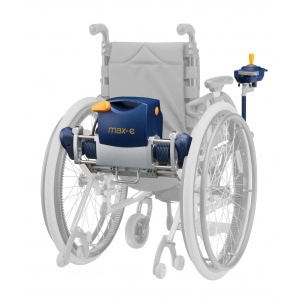 max-e motore per carrozzina manuale con comando autonomo