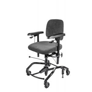 Sedia lavoro ergonomica manuale Real 9000 Plus
