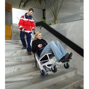 Montascale mobile a ruote per pubbliche assistenze s-max AAT
