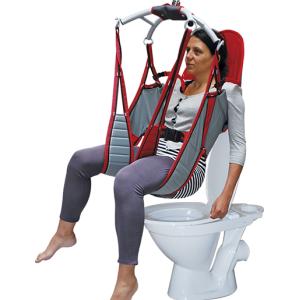 Imbragatura in poliestere Toilet senza appoggiatesta per Poweo 200 Medimec
