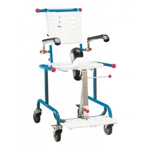 Etac Tripp Tilt sedia basculante per wc e doccia con ruote pediatrica